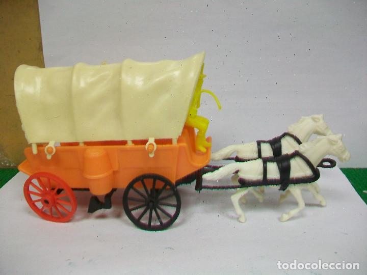 Figuras de Goma y PVC: FIGURA CARAVANA COMANSI - CARRETA DE COMANSI - Foto 2 - 68160769
