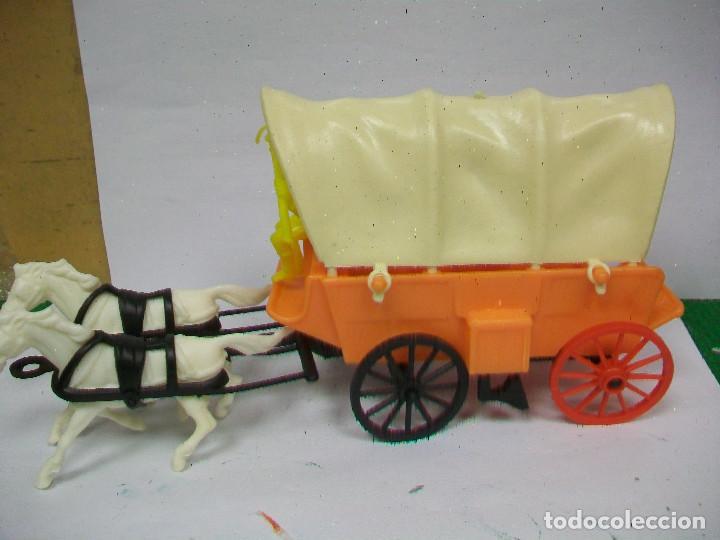 Figuras de Goma y PVC: FIGURA CARAVANA COMANSI - CARRETA DE COMANSI - Foto 4 - 68160769