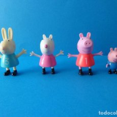 Figuras de Goma y PVC: LOTE FIGURAS PEPPA PIG - ASTLEY BAKER 2003 - DAVIES ENTERTAINMENT ONE - UK LIMITED. Lote 57756063