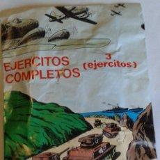 Figuras de Goma y PVC: SOBRE EJÉRCITOS COMPLETOS. Lote 68177725