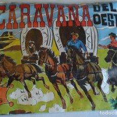Figuras de Goma y PVC: SOBRE LA CARAVANA DEL OESTE. Lote 68177785