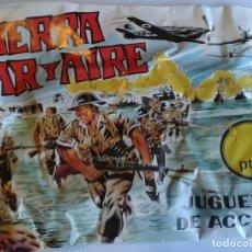 Figuras de Goma y PVC: SOBRE TIERRA MAR Y AIRE. Lote 68177937