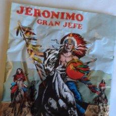 Figuras de Goma y PVC: SOBRE JERÓNIMO GRAN JEFE. Lote 68177985