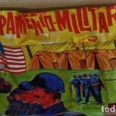 Figuras de Goma y PVC: SOBRE CAMPAMENTO MILITAR. Lote 68178481