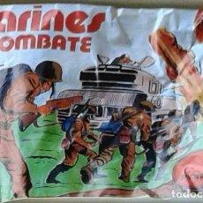 Figuras de Goma y PVC: SOBRE MARINES EN COMBATE. Lote 68178653