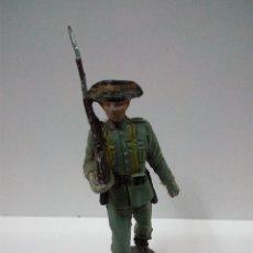 Figuras de Goma y PVC: GUARDIA CIVIL . DESFILE PECH . AÑOS 60 EN PLASTICO. Lote 68319601
