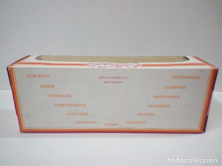 Figuras de Goma y PVC: COLECCION COMPLETA DE FEDERALES . REALIZADA POR OLIVER AÑOS 60 . CAJA ORIGINAL REF 1210 - Foto 11 - 68366301