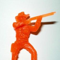 Figuras de Goma y PVC: VAQUERO JINETE - REAMSA Y GOMARSA. Lote 68511701