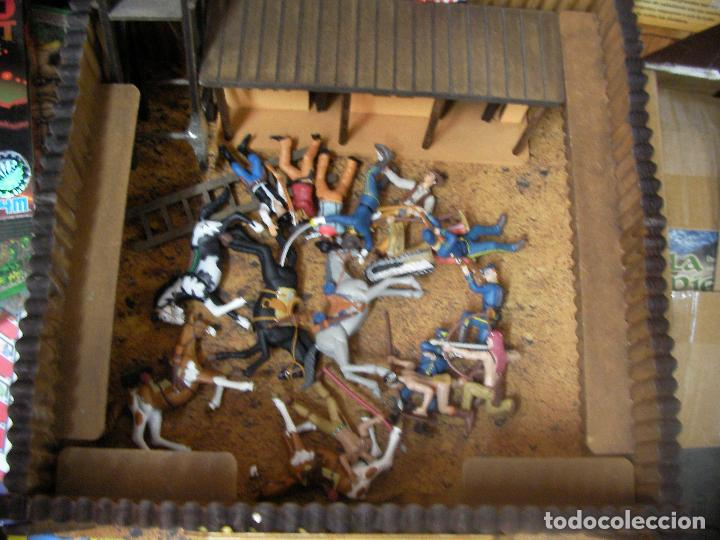 Figuras de Goma y PVC: ESPECTACULAR FUERTE COMANSI CON MUCHAS FIGURAS Y ACCESORIOS - Foto 4 - 68608573