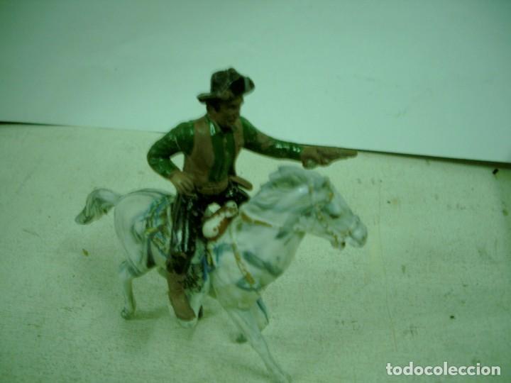 VAQUERO A CABALLO MAIRZA SERIE RIO GRANDE (Juguetes - Figuras de Goma y Pvc - Otras)