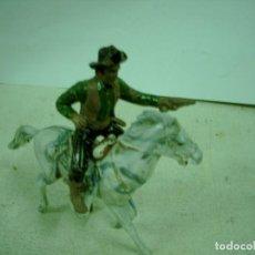 Figuras de Goma y PVC: VAQUERO A CABALLO MAIRZA SERIE RIO GRANDE. Lote 68684517
