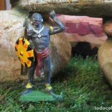 Figuras de Goma y PVC: JECSAN AFRICANO SERIE TARZAN. Lote 68690361