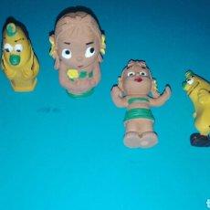 Figuras de Goma y PVC: FIGURA, PVC, FRUITIS, MOCHILO, KUMBA, CABEZA LAPICES. Lote 68699042