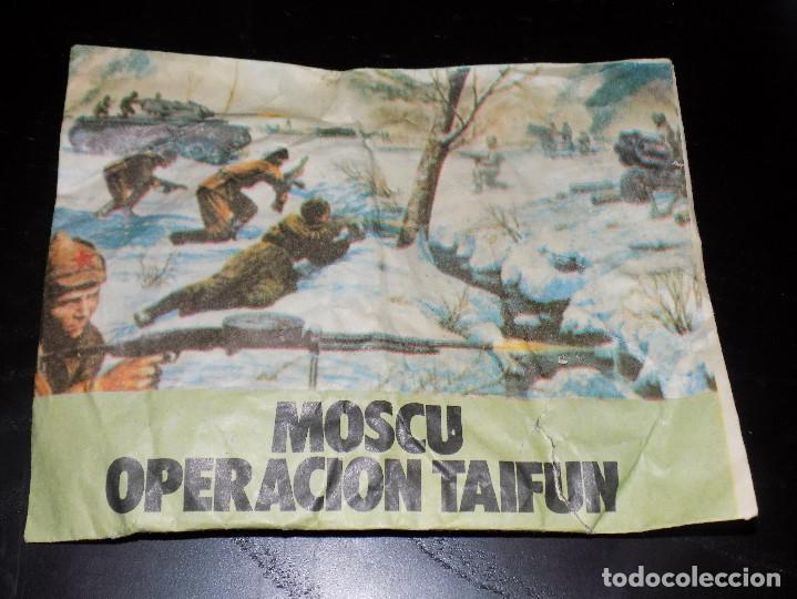 SOBRE SIN ABRIR MONTAPLEX- MOSCU OPERACION TAIFUN (Juguetes - Figuras de Goma y Pvc - Montaplex)