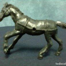 Figuras de Goma y PVC: CABALLO NEGRO. Lote 68838169