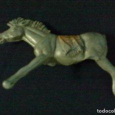 Figuras de Goma y PVC: CABALLO GRIS. Lote 68839001
