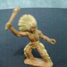 Figuras de Goma y PVC: INDIO GARROTE. Lote 68841753