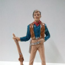 Figuras de Goma y PVC: FIGURA DE BEN CARTWRIGHT . SERIE BONANZA . COMANSI. Lote 68862849