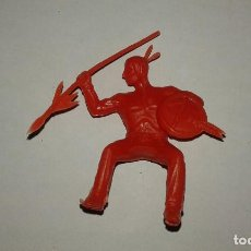 Figuras de Goma y PVC: REAMSA Y GOMARSA GUERRERO SIOUX INDIOS Y VAQUEROS MADE IN SPAIN. Lote 69022965