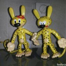 Figuras de Goma y PVC: 2 FIGURAS PVC MARSU 96 BY MUHLECK NOUNOUPS 15CM 225GR (LAS 2). Lote 69538295