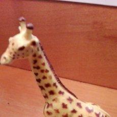 Figuras de Goma y PVC: C62 FIGURA SERIE ANIMALES JIRAFA 14X9CM COMANSI. Lote 69538899