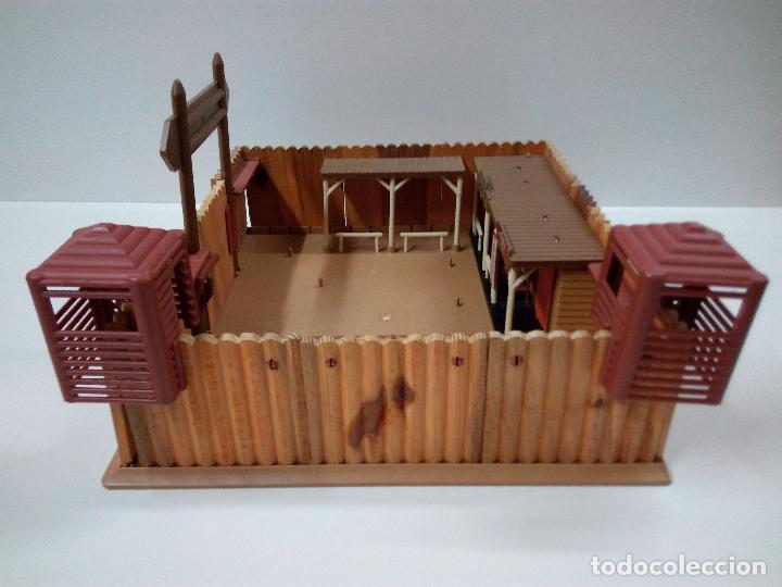 Figuras de Goma y PVC: FORT FEDERAL . COMANSI . REALIZADO EN MADERA Y PLASTICO - Foto 4 - 69618261