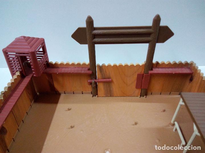 Figuras de Goma y PVC: FORT FEDERAL . COMANSI . REALIZADO EN MADERA Y PLASTICO - Foto 7 - 69618261