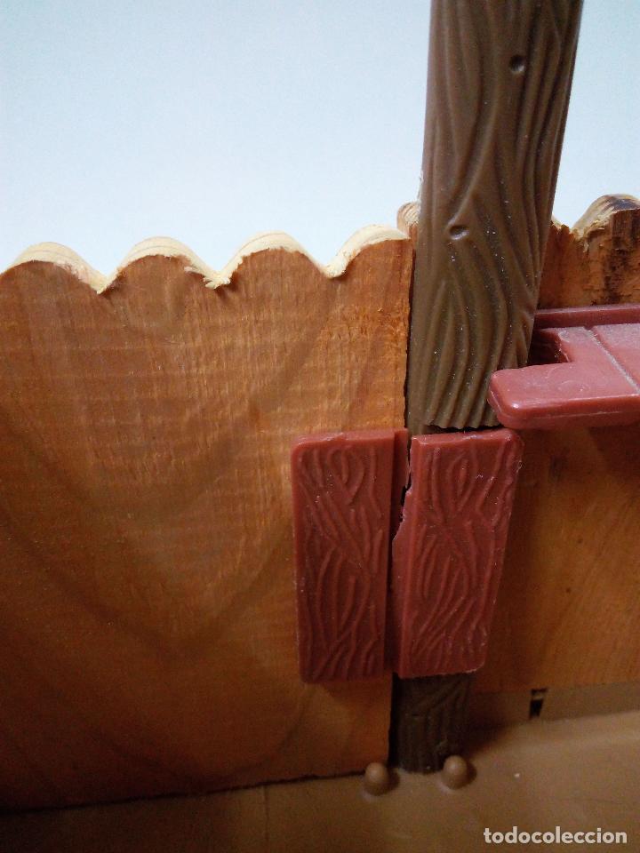 Figuras de Goma y PVC: FORT FEDERAL . COMANSI . REALIZADO EN MADERA Y PLASTICO - Foto 8 - 69618261