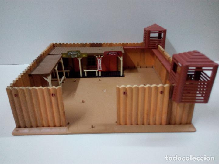 Figuras de Goma y PVC: FORT FEDERAL . COMANSI . REALIZADO EN MADERA Y PLASTICO - Foto 10 - 69618261