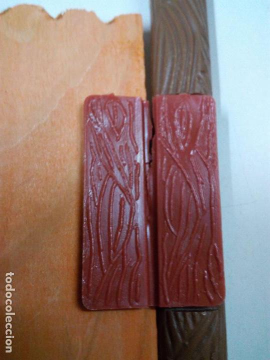 Figuras de Goma y PVC: FORT FEDERAL . COMANSI . REALIZADO EN MADERA Y PLASTICO - Foto 12 - 69618261
