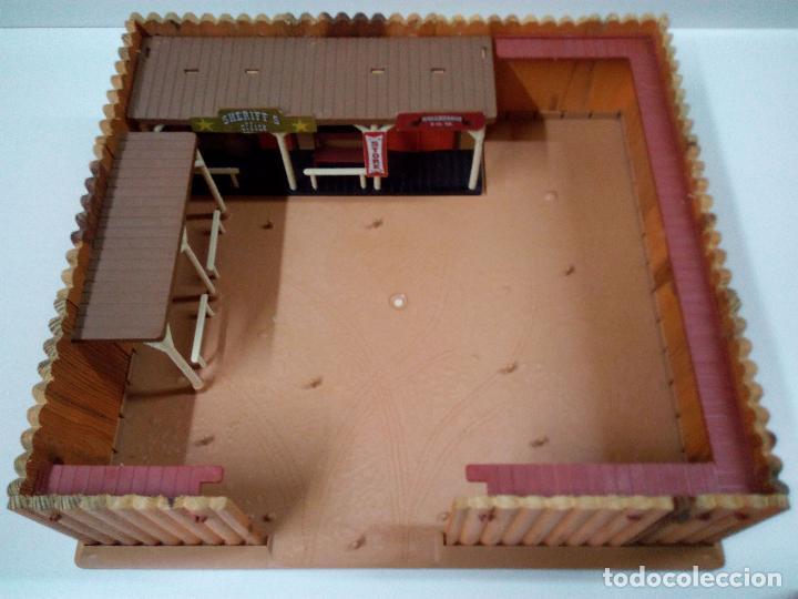 Figuras de Goma y PVC: FORT FEDERAL . COMANSI . REALIZADO EN MADERA Y PLASTICO - Foto 13 - 69618261