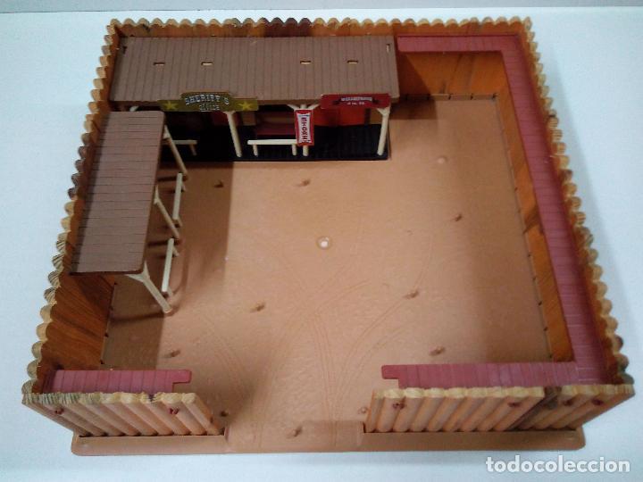 Figuras de Goma y PVC: FORT FEDERAL . COMANSI . REALIZADO EN MADERA Y PLASTICO - Foto 14 - 69618261