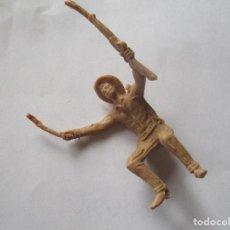 Figuras de Goma y PVC: FIGURA CONDUCTOR CARAVANA COMANSI 60MM. Lote 69620513
