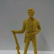 Figuras de Goma y PVC: FIGURA DE BEN CARTWRIGHT . SERIE BONANZA . COMANSI MONOCOLOR. Lote 69667165