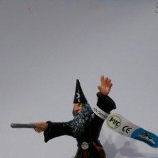 Figuras de Goma y PVC: BULLYLAND, FIGURA DE BRUJO O MAGO. Lote 69693989