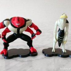Figuras de Goma y PVC: FIGURA PVC - LOTE 2 FIGURAS BEN 10 - BEN030 Y BEN035 - CARTOON NETWORK - CORINTHIAN - 2008. Lote 69714577