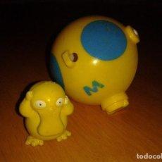 Figuras de Goma y PVC: FIGURA POKEMON (PSYDUCK),TOMY Nº 54 NINTENDO+POKEBALL. Lote 69719349