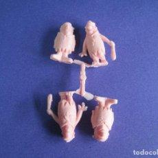 Figuras de Goma y PVC: MONTAPLEX-COLADA CURIOSA DE LOS PICAPIEDRAS EPIC Y BLAS- AÑOS 80-FABRICADOS POR EJUSA. Lote 69737989