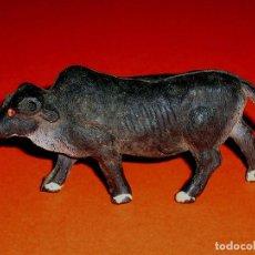 Figuras de Goma y PVC: CEBÚ SERIE ANIMALES SALVAJES, FABRICADO EN GOMA, ALCA CAPELL, ORIGINAL AÑOS 50.. Lote 69885349