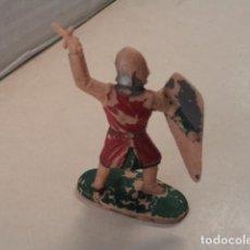 Figuras de Goma y PVC: FIGURA DE PLÁSTICO GUERRERO CRISTIANO SERIE CID CAMPEADOR REAMSA. Lote 70100429