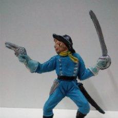 Figuras de Goma y PVC: SOLDADO FEDERAL . COMANSI . PRIMERA EPOCA. Lote 70168177