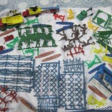 Figuras de Goma y PVC: MONTAPLEX-LOTE VARIADO- CAMIONES, SUBMARINOS, VARCOS. ETC.... AÑOS 80-ORIGINAL MONTAPLEX-. Lote 70177133