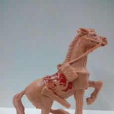 Figuras de Goma y PVC: CABALLO PARA VAQUERO - COWBOY - SOLDADO . PECH . AÑOS 60. Lote 70227393