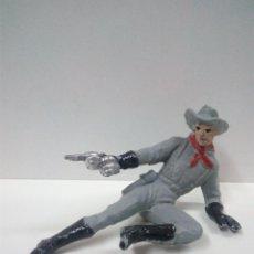 Figuras de Goma y PVC: SOLDADO CONFEDERADO . PECH . AÑOS 60. Lote 70228157