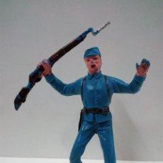 Figuras de Goma y PVC: SOLDADO FEDERAL . JECSAN. Lote 70314845