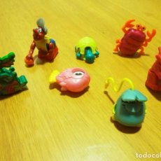 Figuras Kinder: LOTE 7 FIGURAS MOVILES KINDER. Lote 70329877