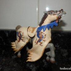 Figuras de Goma y PVC: FIGURA DE CABALLO MEDIEVAL PAPO. Lote 70399593