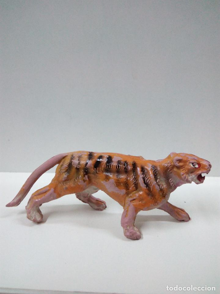 TIGRE . SERIE FIERAS . PECH . AÑOS 50 EN GOMA (Juguetes - Figuras de Goma y Pvc - Pech)