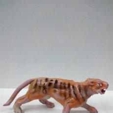 Figuras de Goma y PVC: TIGRE . SERIE FIERAS . PECH . AÑOS 50 EN GOMA . Lote 70477213