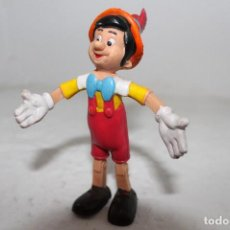 Figuras de Goma y PVC: FIGURA DE PINOCHO EN PVC GOMA ARTICULABLE DE 14 CM. MUY RARA .. Lote 71210061